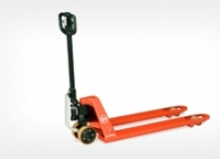 Different modifications of hydraulic pallet trucks