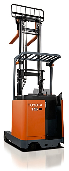 Lever Reach Truck : Stand in