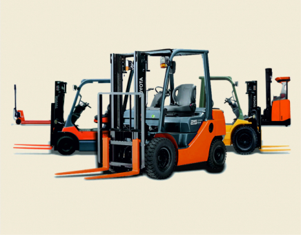 Toyota forklifts and warehouse  equipment catalog